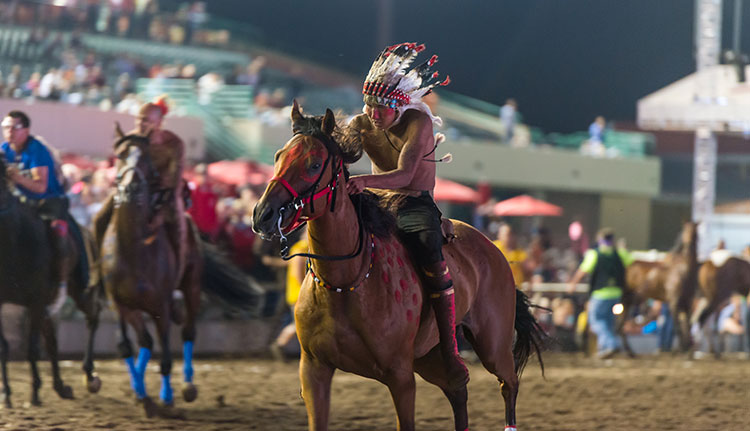 Indian Horse Relay